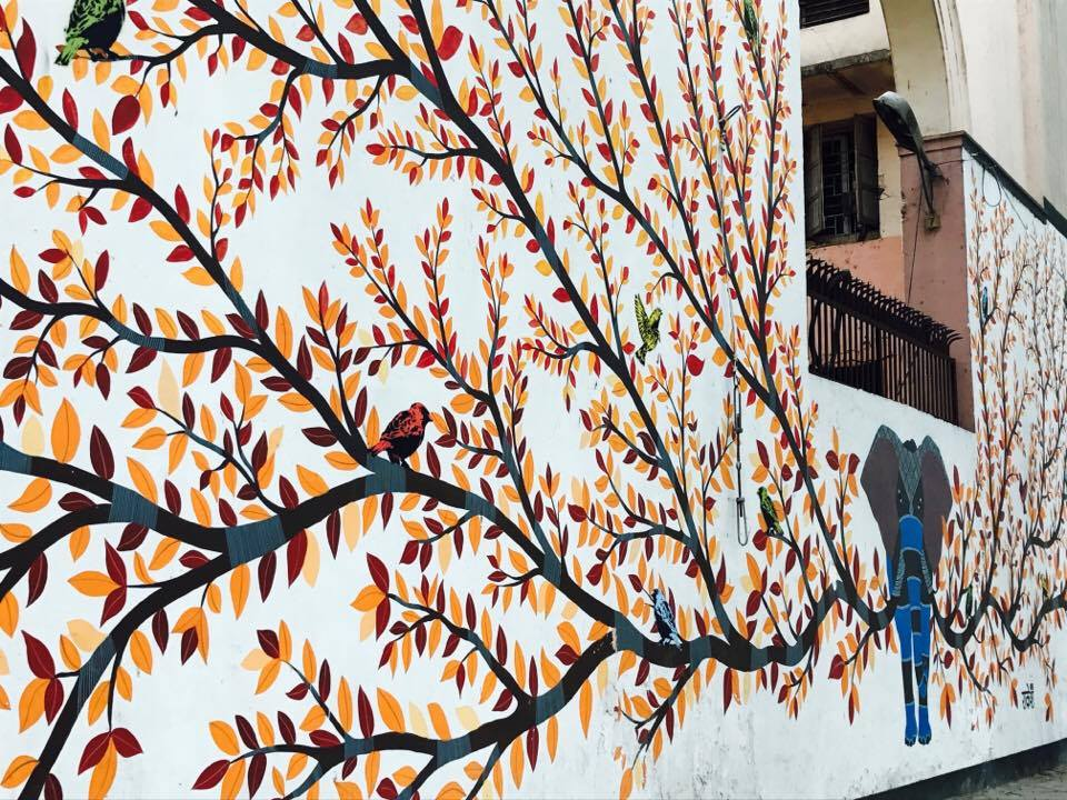 Brilliant ARTWORK on walls of Delhi
