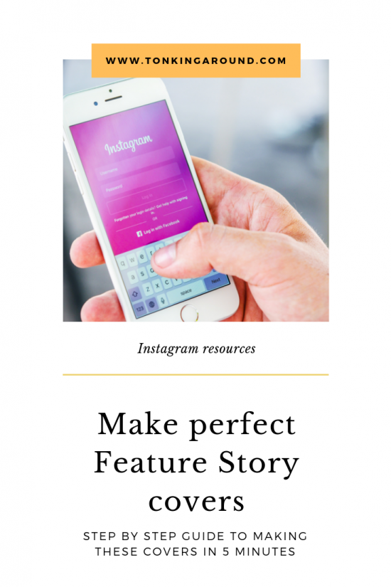 How to make Beautiful featured stories covers for Instagram
