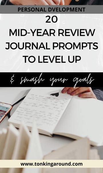 Does your year go by without you realising it? Here are 20 journal prompts to do a mid year review to refocus our energy and align your goals.