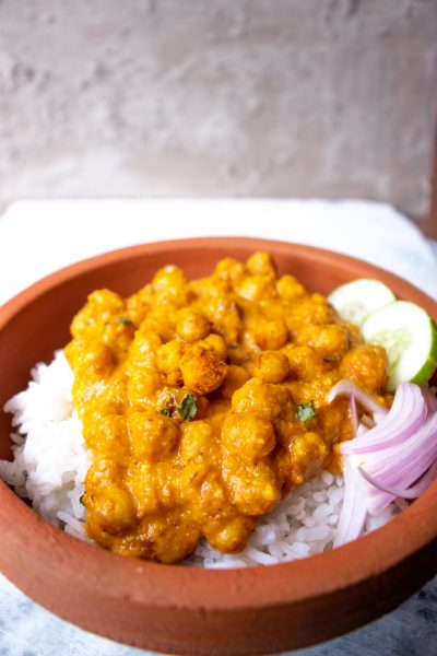 Indian chole tikka masala recipe and chickpea curry recipe or chickpea tikka masala recipe