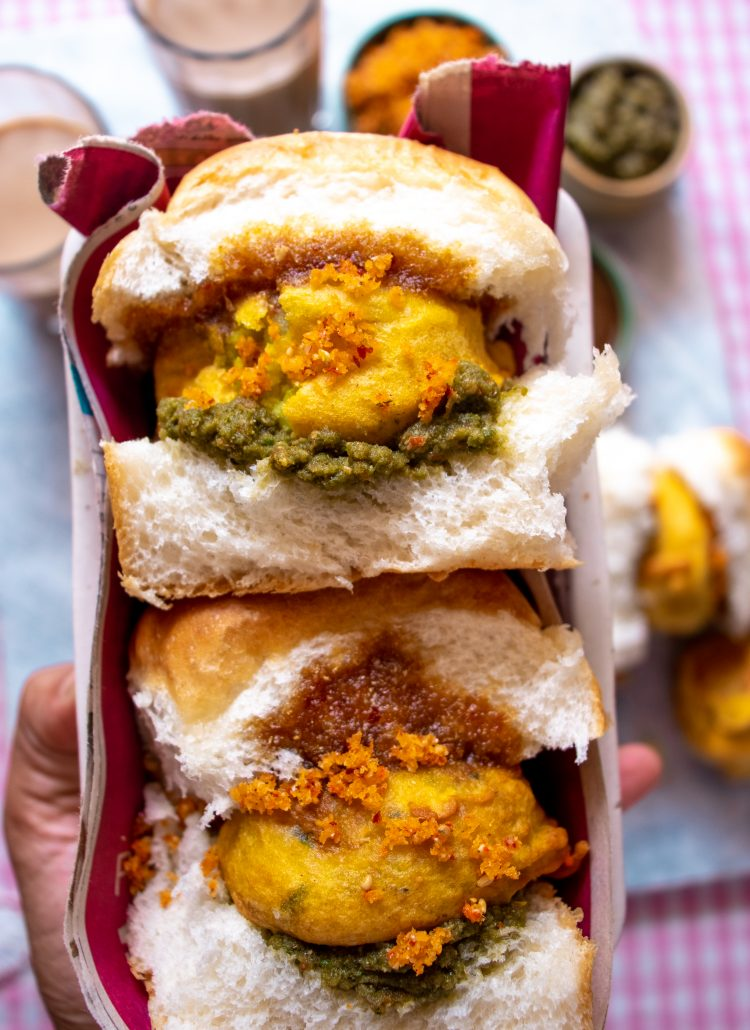 The ultimate Mumbai Style Vada Pav Recipe