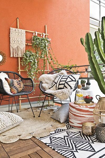 12 Boho Balcony Ideas that dreams are made of