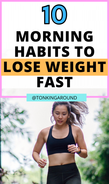Sick of trying to lose weight? Make these habits a part of your morning routine to lose weight fast and keep it off for good.